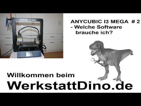 Anycubic I3 Mega Welche Software brauche ich? # 2 Tutorial für Anfänger thumbnail