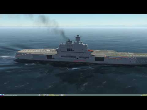 DCS AJS-37 - RB15F Anti-Ship Missile Vs. Aircraft Carrier Admiral Kuznetsov