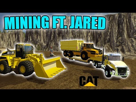 MINING WITH NEWBIE | GETTING GOLD | MAKING $100,000 | FARMING SIMULATOR 2017