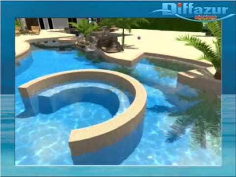Nouvelle piscine aqualudique proche de toulouse youtube for Camping toulouse piscine