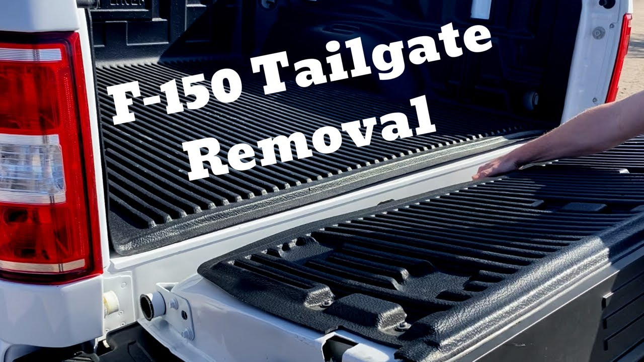 2017 2020 Ford F150 Tailgate How To Remove Replace Tutorial 2017 2018 2019 2020 F 150 Youtube