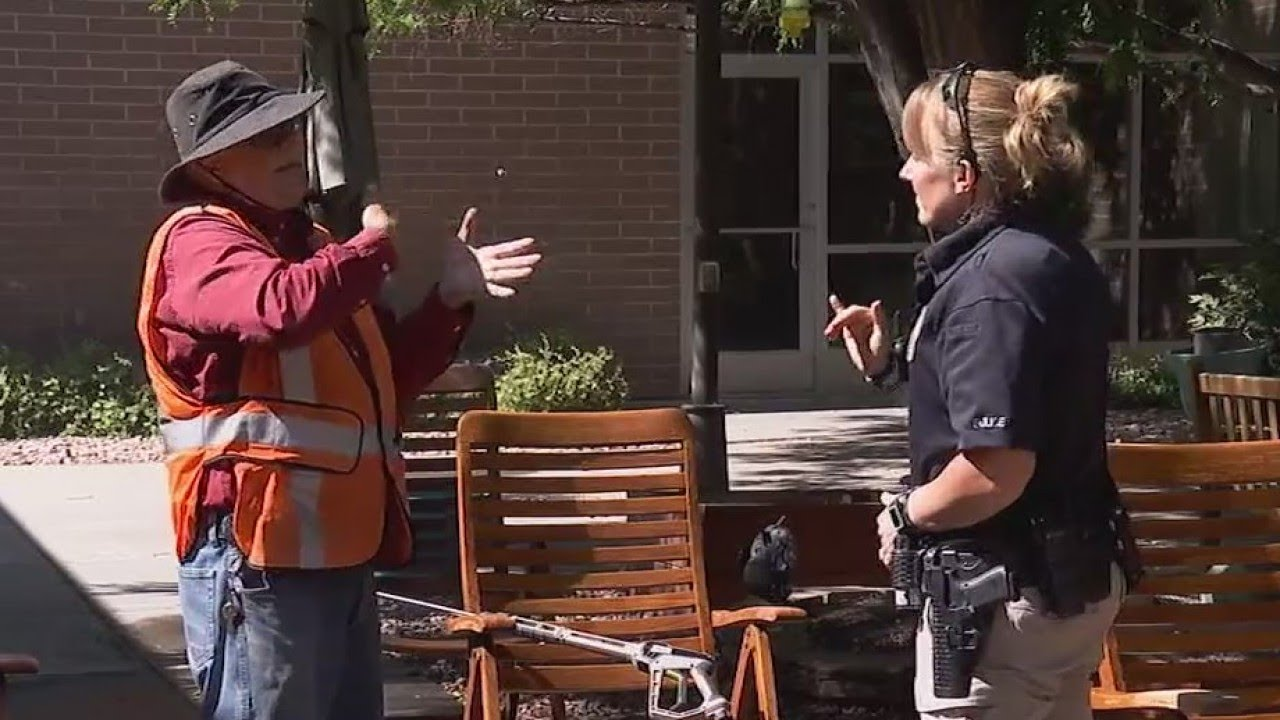 Utah officer uses sign language to work with the deaf community