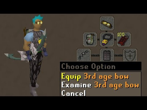 Low Level 3rd Age Bow PKing