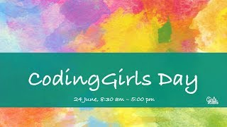 Opening Statements - CodingGirls Day 2017