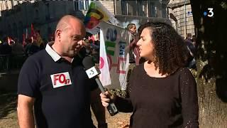 Grève du 9 octobre 2018 : interview du secrétaire adjoint de FO Haute-Vienne