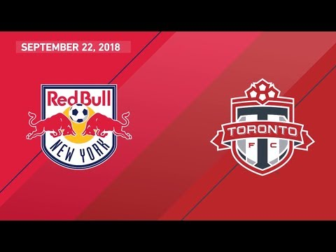 Match Highlights: Toronto FC at New York Red Bulls - September 22, 2018