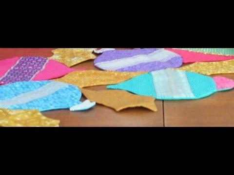 Como hacer un camino de mesa navide o quilting y - Como hacer pachwork ...