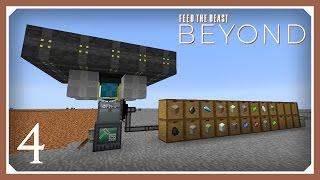 FTB Beyond | RFTools Builder Quarry! | E04 (Modded Minecraft 1.10.2 Survival Let