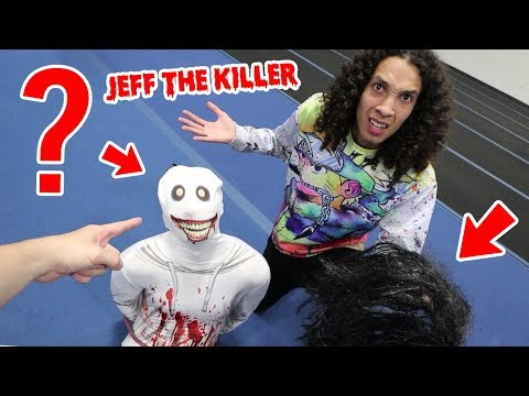WE UNMASKED JEFF THE KILLER AND YOU WON'T BELIEVE WHAT HAPPENED!! (SCARY)