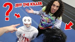 WE UNMASKED JEFF THE KILLER AND YOU WON