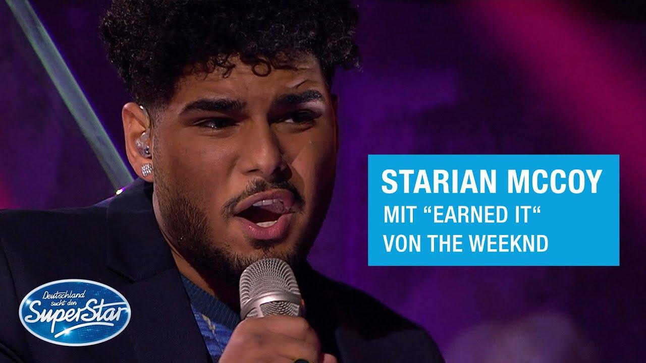 "Download Starian McCoy mit ""Earned It"" von The Weeknd | Halbfinale DSDS 2021"