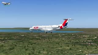Embraer ERJ 145 Air France F GUPT LFPG To EGAA