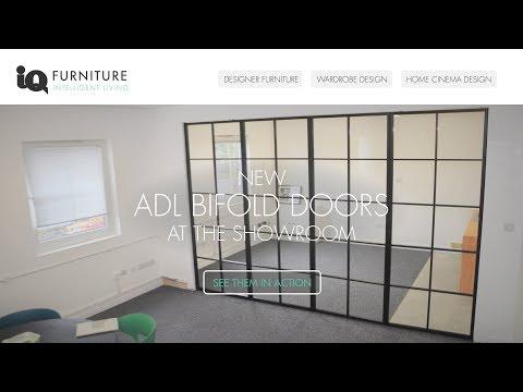 Steel Look Bifolds @ IQ Furniture Showroom