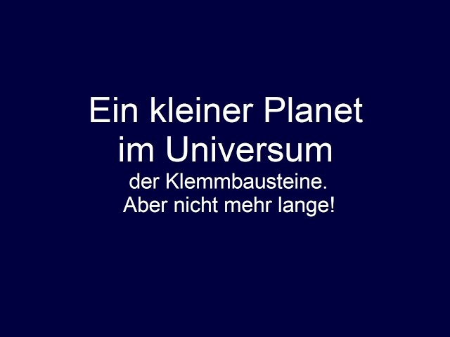 Ein kleiner Planet -Daten, Fakten und persönliche Meinung- Klemmbausteinkanäle auf Youtube Teil 17