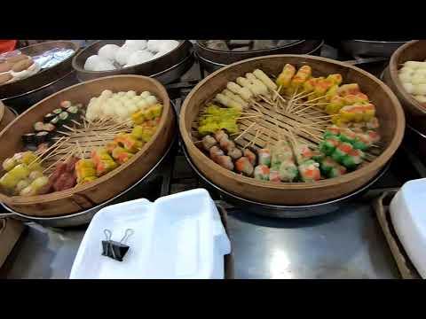 Singapore to Malaysia, KSL markets, Shopping mall and Street Food - Travelogue