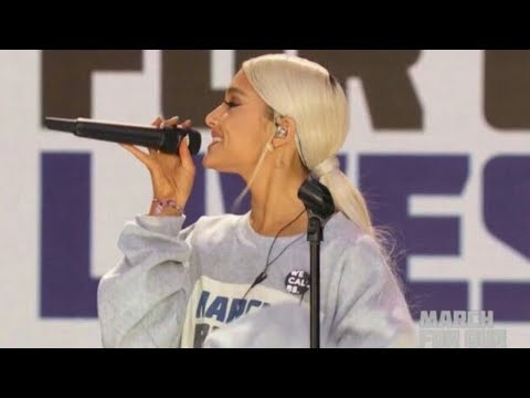 "Ariana Grande - Be Alright (Live from ""March For Our Lives"")"