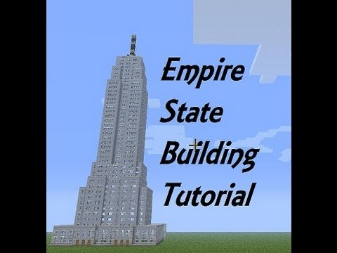 Minecraft Empire State Building Tutorial Pt1 YouTube