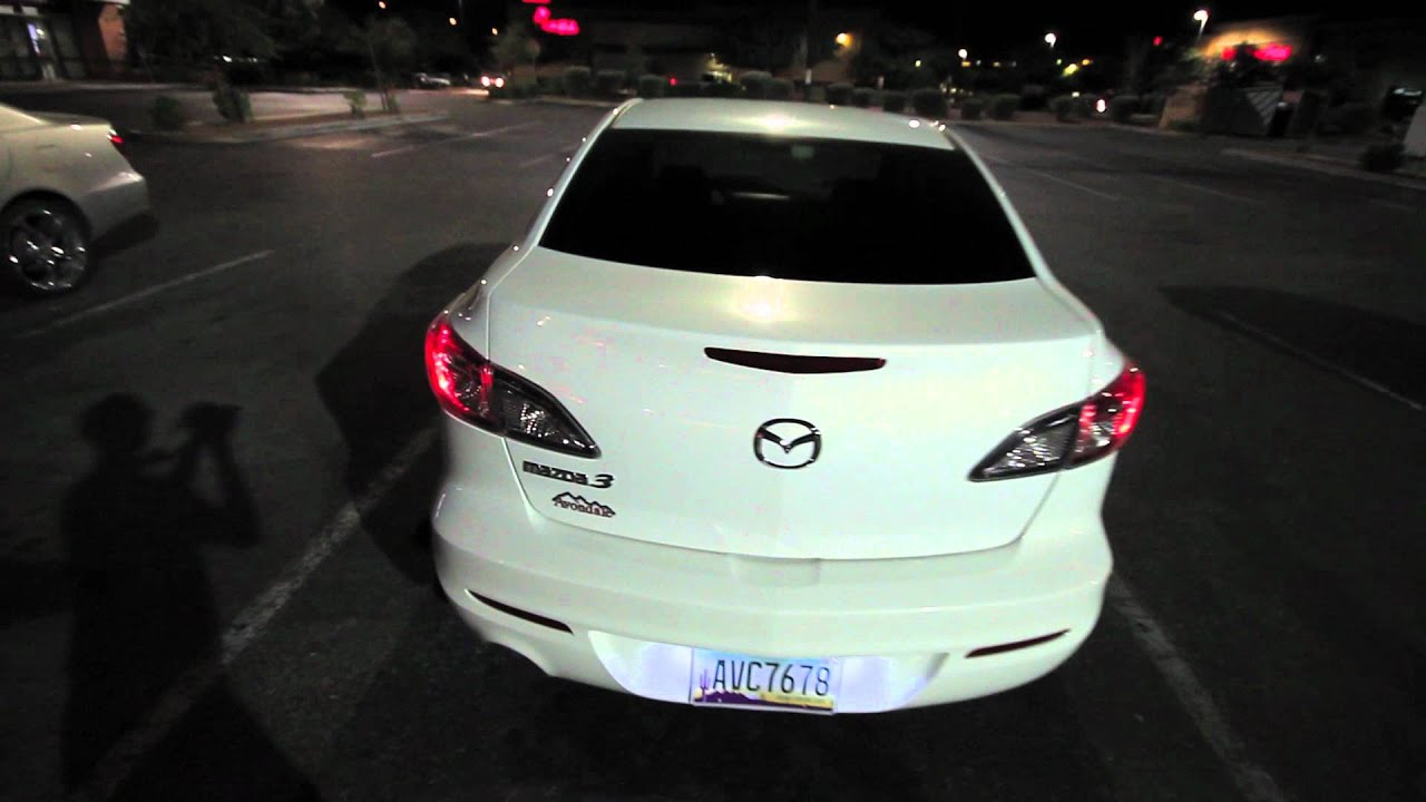 Quick fly Around of my 2012 Mazda 3 sedan. - YouTube