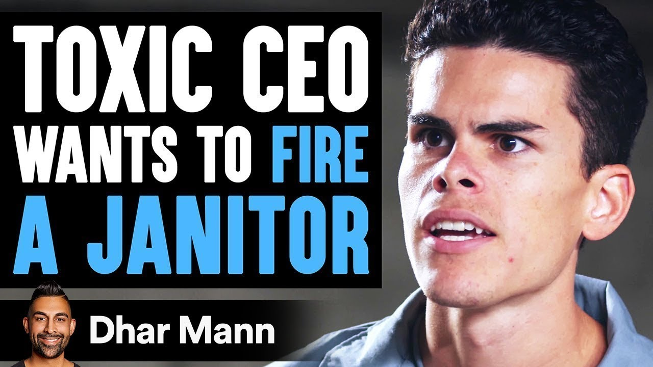 CEO Threatens To Fire Janitor, Son Teaches Him A Lesson | Dhar ...