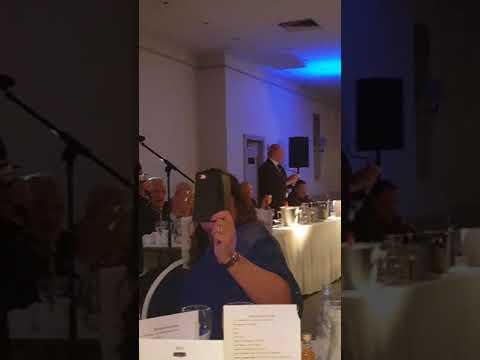 Sammy King singing Blue Sea of Ibrox Aberdeen