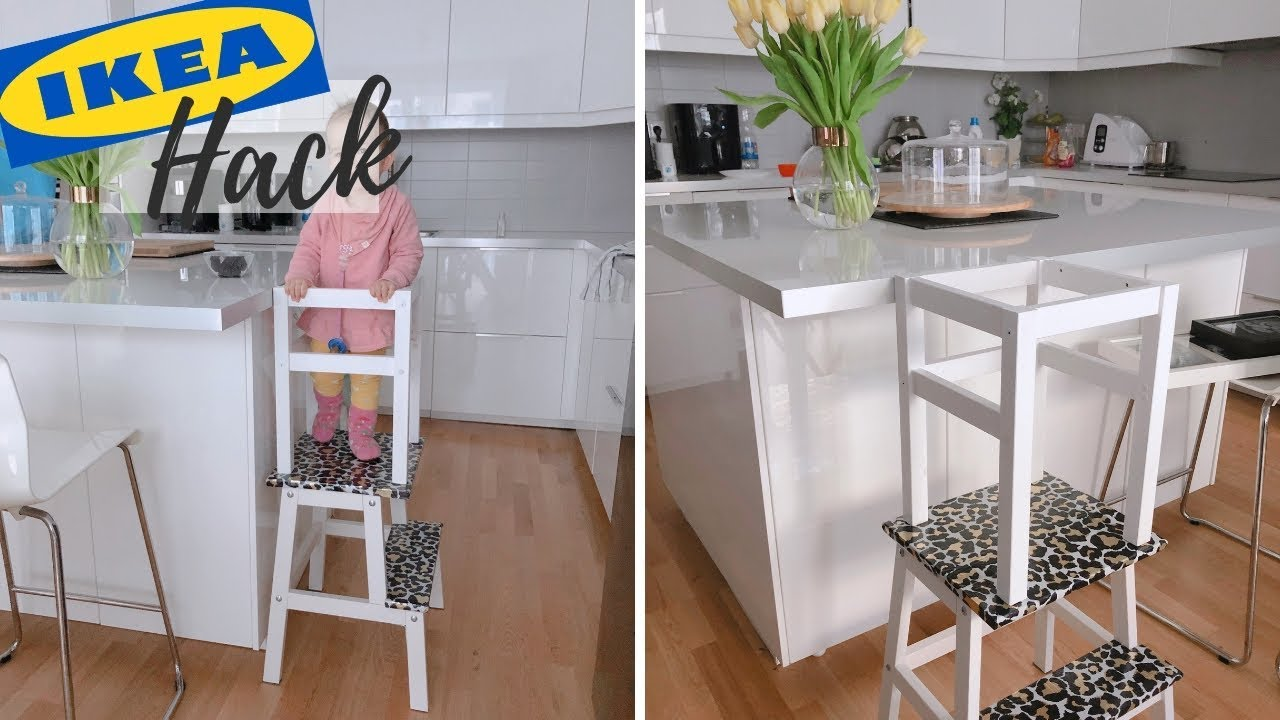 DIY LERNTURM nach MONTESSORI IKEA HACK (Oddvar, Bekväm)