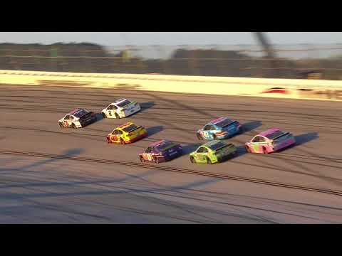 Keselowski earns checkered flag with late pass in wild final laps