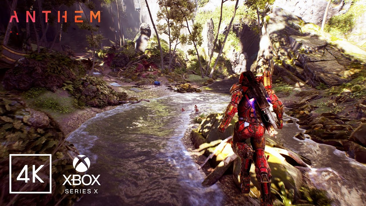 ANTHEM 2.0 | Xbox Series X Graphics with DirectX Ray Tracing Technology