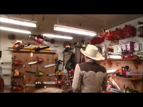 How to buy a Chainsaw by Dennis Hopper  Texas Chainsaw Massacre 2
