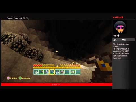 Minecraft quest BudSmoker518's Live PS4 Broadcast