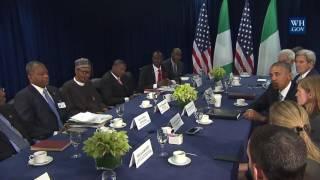 President Obama and President Buhari