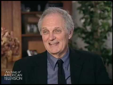 """Alan Alda discusses the network's objection to his showing a clip from his movie """"The Four Seas..."""