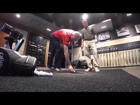 Clubfitting at Callaway's Performance Center