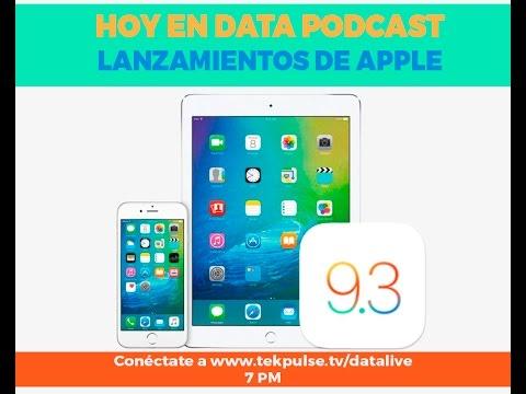 DATA EN VIVO! Todo sobre los nuevos iPhone SE, iPad PRO y más