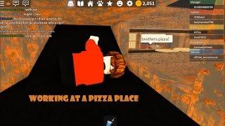 ROBLOX: Vom Teigklumpen zur Pizza-Box!! : O: O Schwedisch [WorkingInAPizzaPlace]