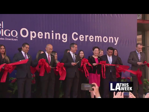 Grand Opening of Hotel Indigo in Downtown LA