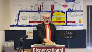 Fundamentals of Dispensationalism (FOD) Lesson 1