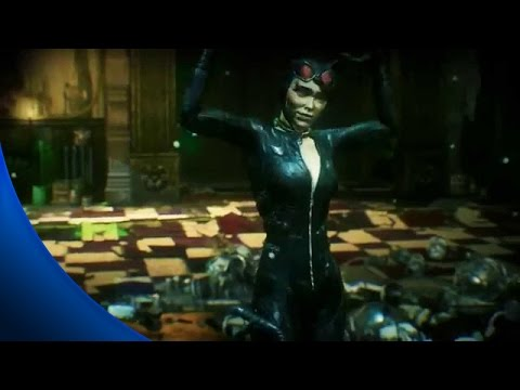 Batman Arkham Knight - All Riddler Riddles to Rescue Catwoma