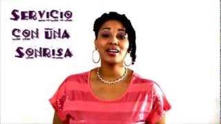 Spanish Language Success!® -  Listening Comprehension - Servicio con una Sonrisa!