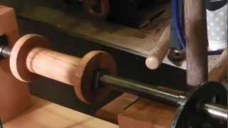 Joseph Moxon Drill Bench On A Seventeenth Century Wood Lathe