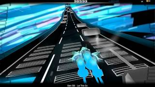 [Audiosurf] Stan SB - Let This Go (With lyrics)