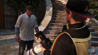 GTA V: Franklin Gameplay