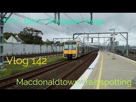 BTV : Ben's Transport Vlogs ] Vlog 142 Macdonaldtown Trains Galore