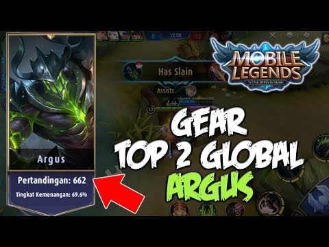 COPY BUILD / GEAR TOP 2 GLOBAL ARGUS - Mobile Legends Indonesia #10