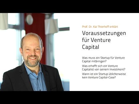 Voraussetzungen für Venture Capital