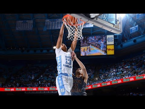 UNC Men's Basketball: Cameron Johnson Double-Doubles vs. Boston College