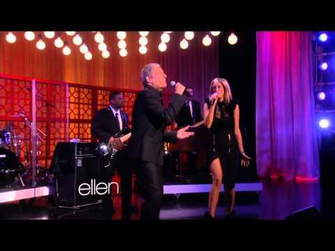 Delta Goodrem & Michael Bolton - Ain't No Mountain High Enough (Ellen Show Performance 2013)