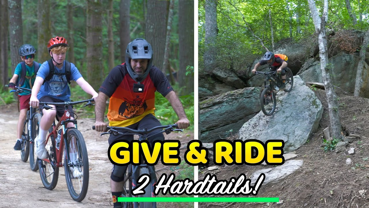 Riding our Favorite Lines & Giving away Two Bikes!