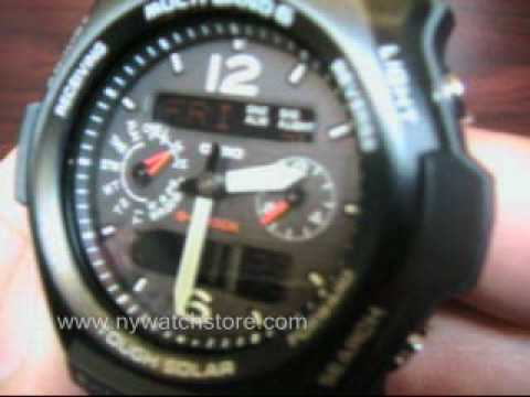 how to set date gs shock watch gwx