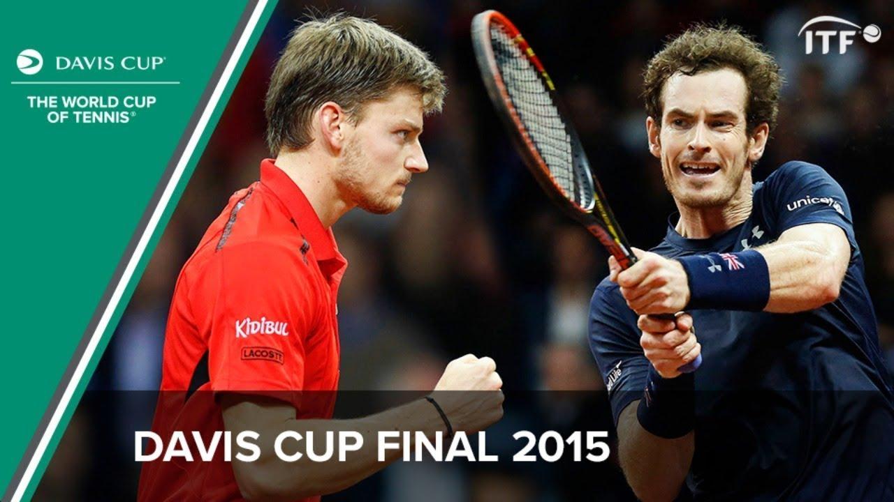Andy Murray v David Goffin | Davis Cup Final 2015 | Full Match