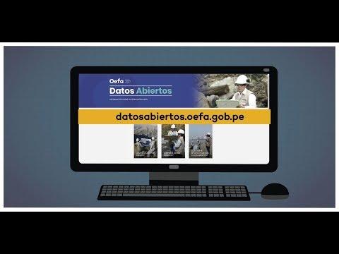Portal de Datos Abiertos del OEFA